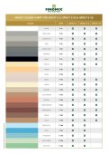 GROUTS COLOUR CHART Thumbnail